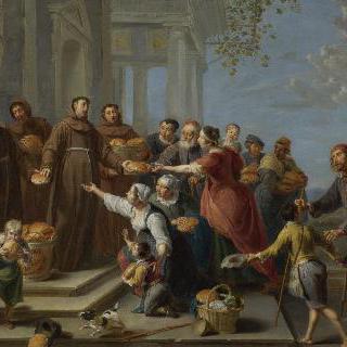 빵을 나누어 주는 파도바의 성 안토니우스