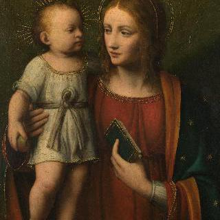 성모와 아기 예수