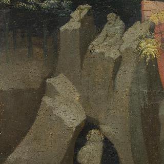 수비아코의 사크로 스페코 (거룩한 동굴)에 있는 성 베네딕토