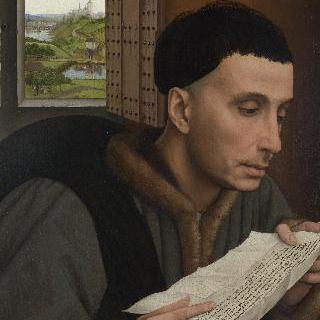 글을 읽고 있는 남자 (성 이보)