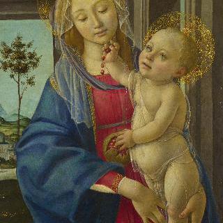 석류 열매를 든 성모와 아기 예수