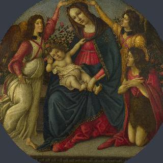 성모와 아기 예수, 성 요한과 두 천사