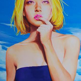 현대인-노랑머리소녀 01