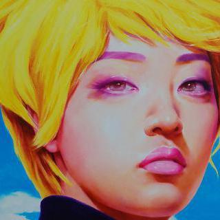 현대인-노랑머리 소녀 02