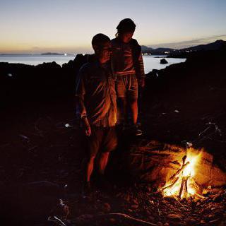 Hamel's Boat 2008 - The campfire