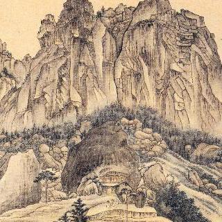 금강사군첩 - 계조굴