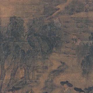 풍속도8첩병풍 - 노상풍정