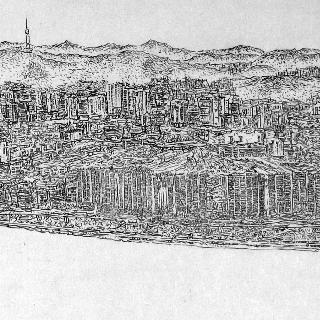 산수 - 재개발 된 도시풍경