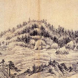 풍악장유첩 - 백산