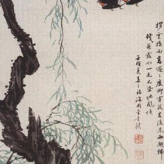 제비와버드나무