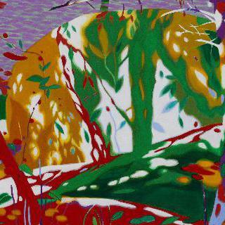 붉은 바위숲