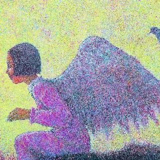 소녀와 비둘기