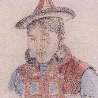 티베트여인의 얼굴