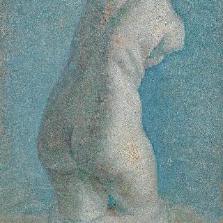 여인의 토르소 석고 모형