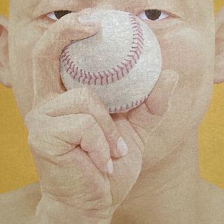 한 사람으로서의 자화상 - 야구공