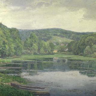 올드라임 연못