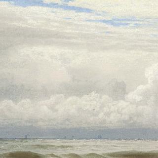 개이는 하늘 / 바다 풍경