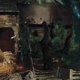 투들름스 옛 농장 마당 이미지