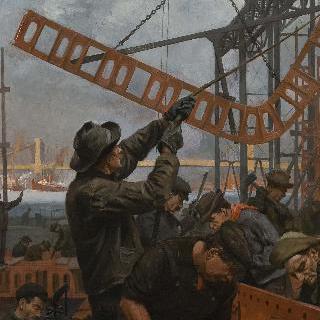 맨해튼 다리 건설