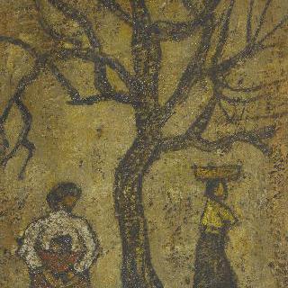 나무와 여인