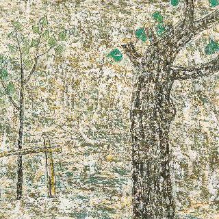 노목과 어린나무