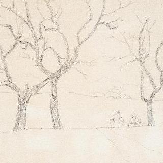 나무가 있는 마을