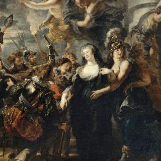 1619년 2월 22일 밤, 블루아 성 안에 숨은 여왕