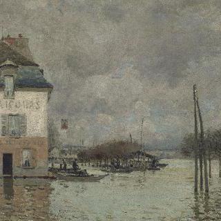 마를리 항의 홍수