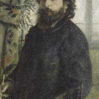 화가 클로드 모네의 초상