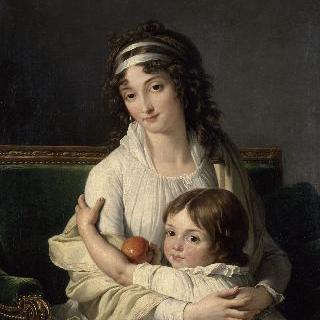 부아이에-퐁프레드 부인과 아들의 초상