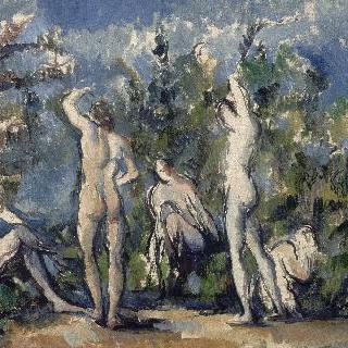 다섯명의 목욕하는 사람들