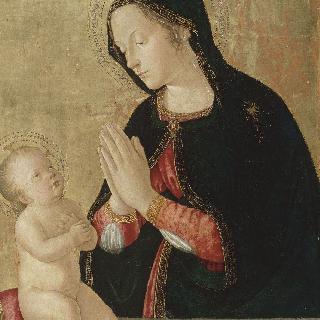 아기 예수를 안은 성모