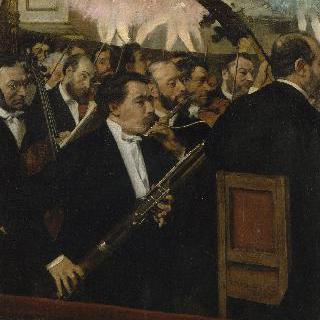 파리 오페라의 오케스트라 이미지