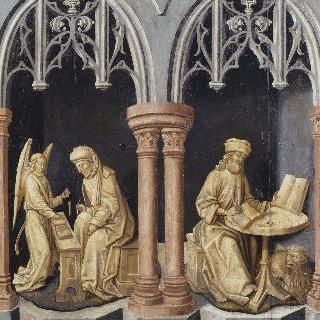 성모의 죽음 - 성 마태오와 성 마르크