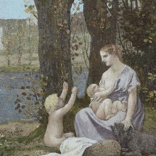 젊은 어머니 (모성 또는 인애)