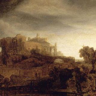 성이 있는 풍경