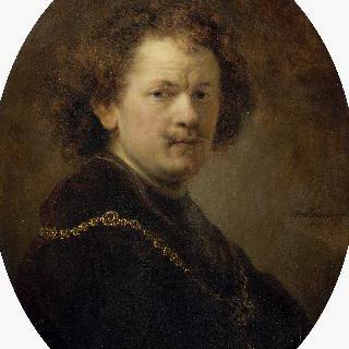 모자를 쓰지 않은 화가의 초상