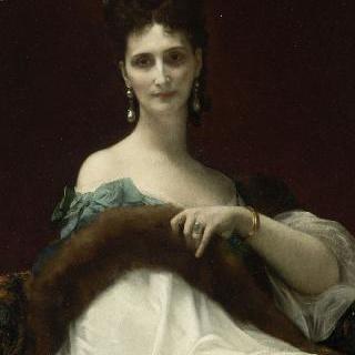 켈러 백작 부인의 초상 (1855년 생 이브 달베드르의 후작 부인)