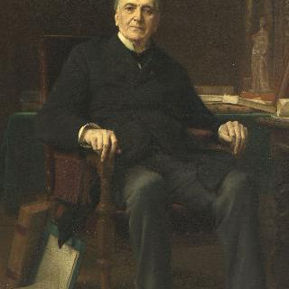 알프레드 아르망의 초상 (건축가이자  미술 소장가 1805-1888) 이미지