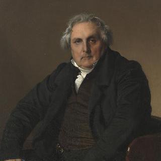 지의 창립자 루이 프랑수아 베르탱의 초상