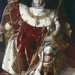 왕좌에 앉은 나폴레옹 1세