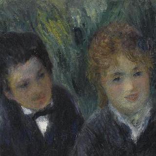 젊은 여인과 청년의 초상