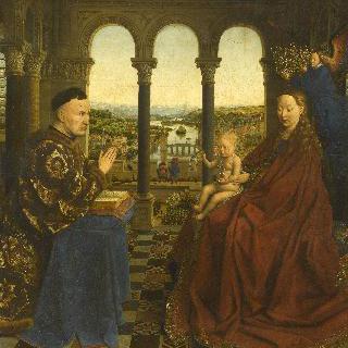 롤랭 대주교와 성모
