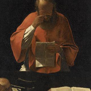 글 읽는 성 히에로니무스