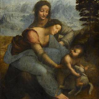 성 안나와 함께 있는 성 모자상