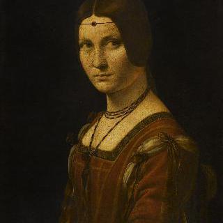 밀라노 귀족 부인의 초상 ('철공업자의 아름다운 부인'으로 잘못 알려짐)