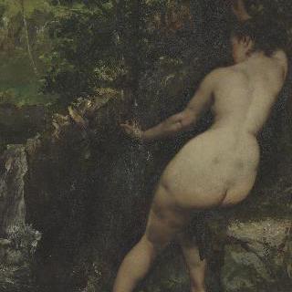 샘 (샘에서 목욕하는 여인)