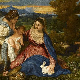 성녀 카타리나와 성 모자