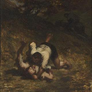 두 도둑과 당나귀