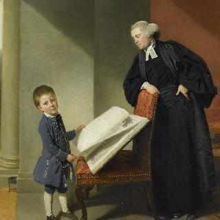 란달 버러우스 사제와 그의 아들 엘리스